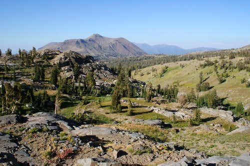 Carson Pass and Red Lake Peak