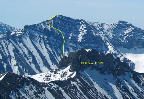North West face Route