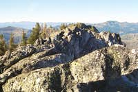 The Summit of Bruin Mountain, South
