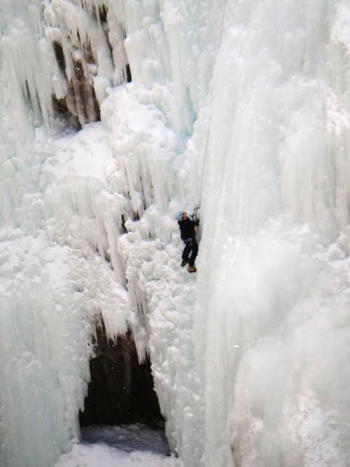 Out of Ice Cave