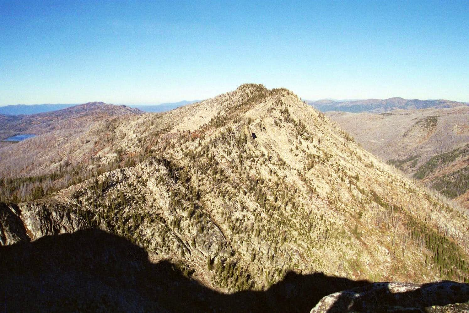 Bruin Mountain, north