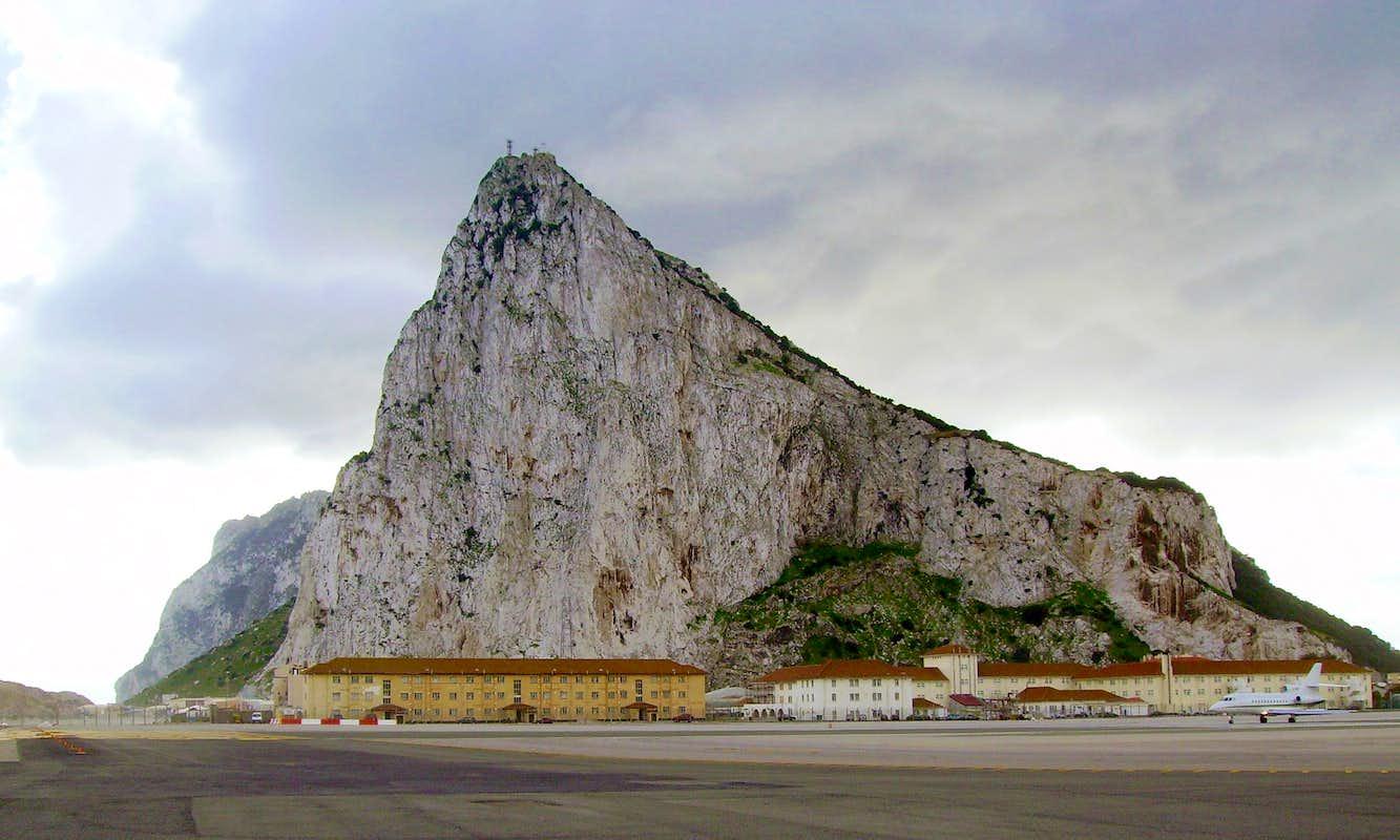 The Rock Of Gibraltar Climbing Hiking Amp Mountaineering