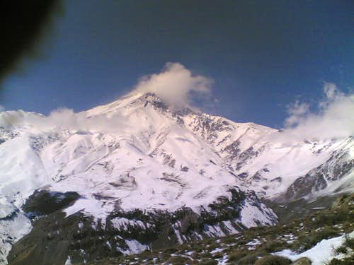 damavand-NE ridge