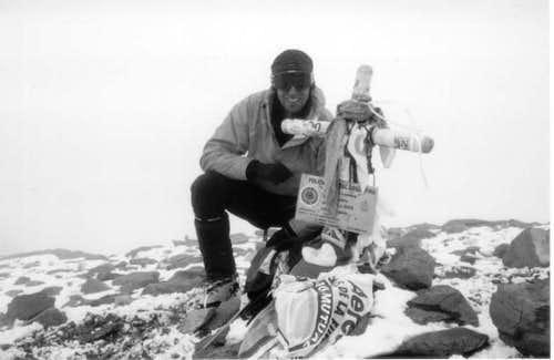 The summit of aconcagua My...