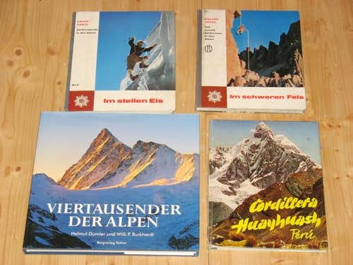 Erich Vanis, Walter Pause, 4000er der Alpen, Huayhuash