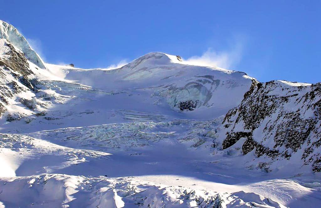 Il ghiacciaio del Laveciau