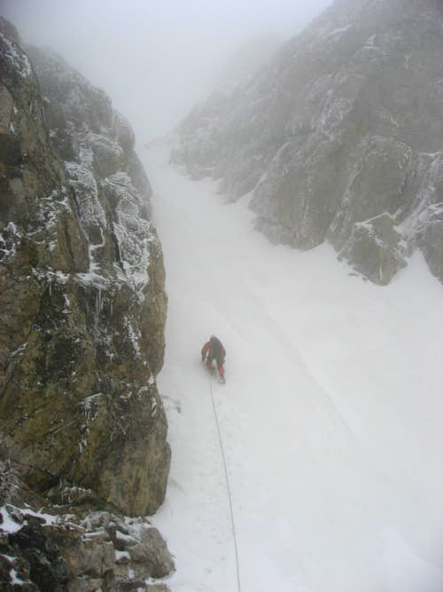 Heading up into the mist