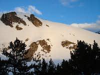 Sunrise on St. Mary's Glacier