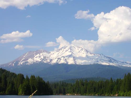 View from Siskiyou Lake