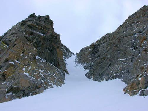 North couloir of Emerson