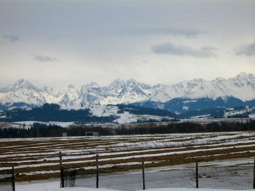 Panorama from Jurgow