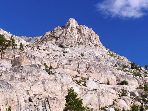 Rock Tower on the East Ridge...