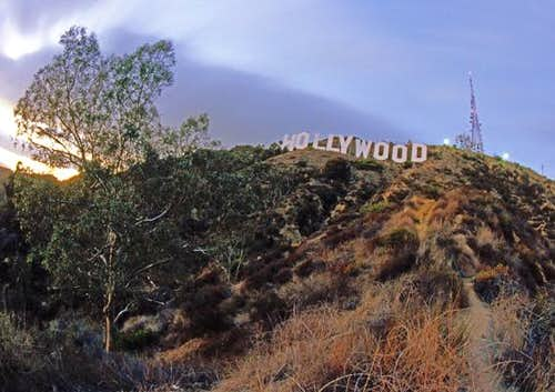 Hollywood Sign on Mt. Lee