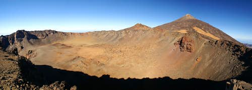 The crater of Pico Viejo