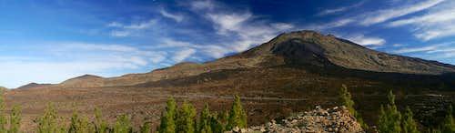 Summit view Roques del Cedro: Pico Viejo