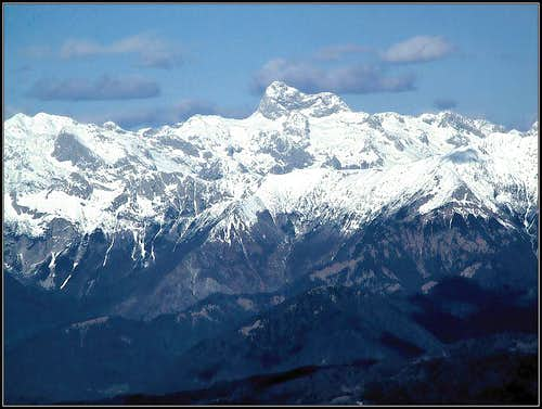 Triglav from Mali Golak