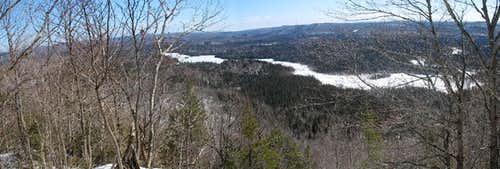 Peat Mountain Summit Pano