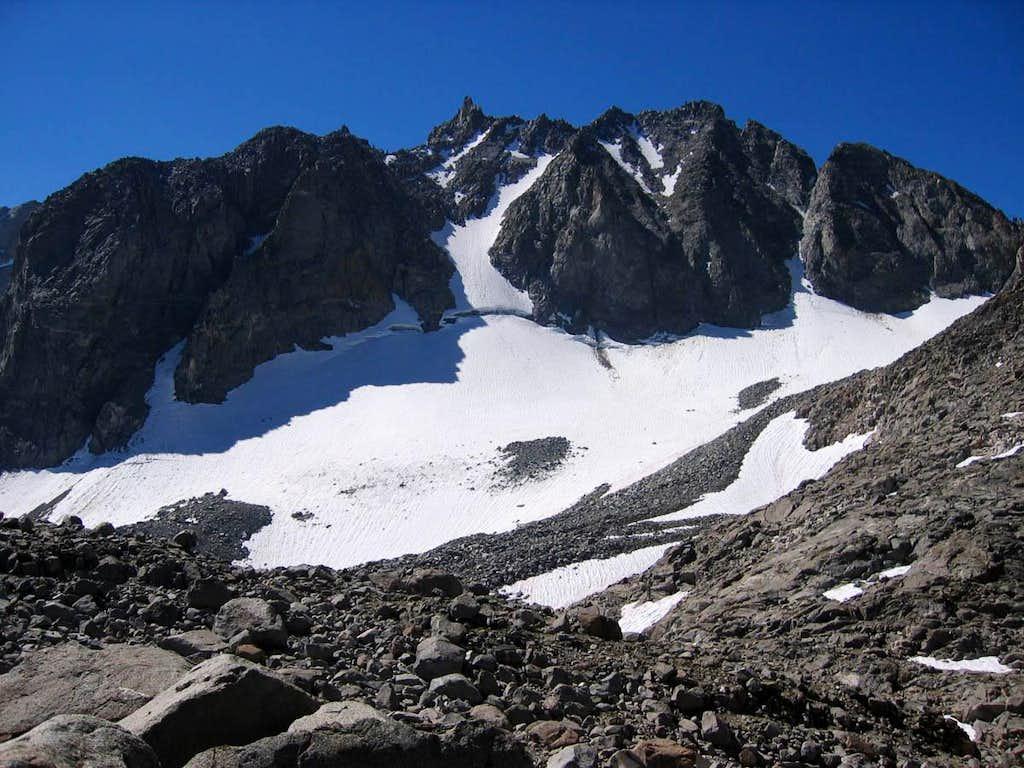 north side of Thunderbolt Peak