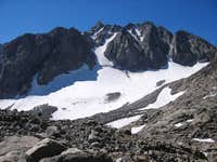 north side of Thunderbolt Peak
