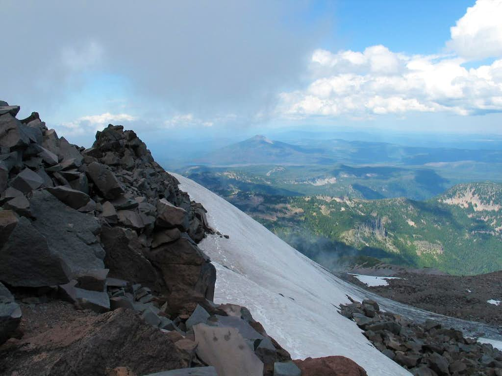Looking at Olallie Butte