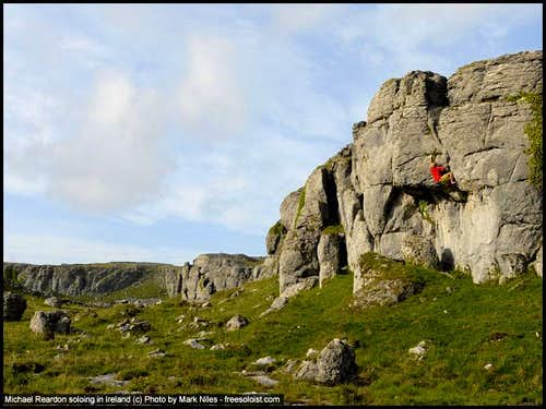 Michael Reardon Soloing at Burren, Ireland