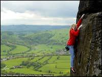 Michael Reardon soloing the Grit in England