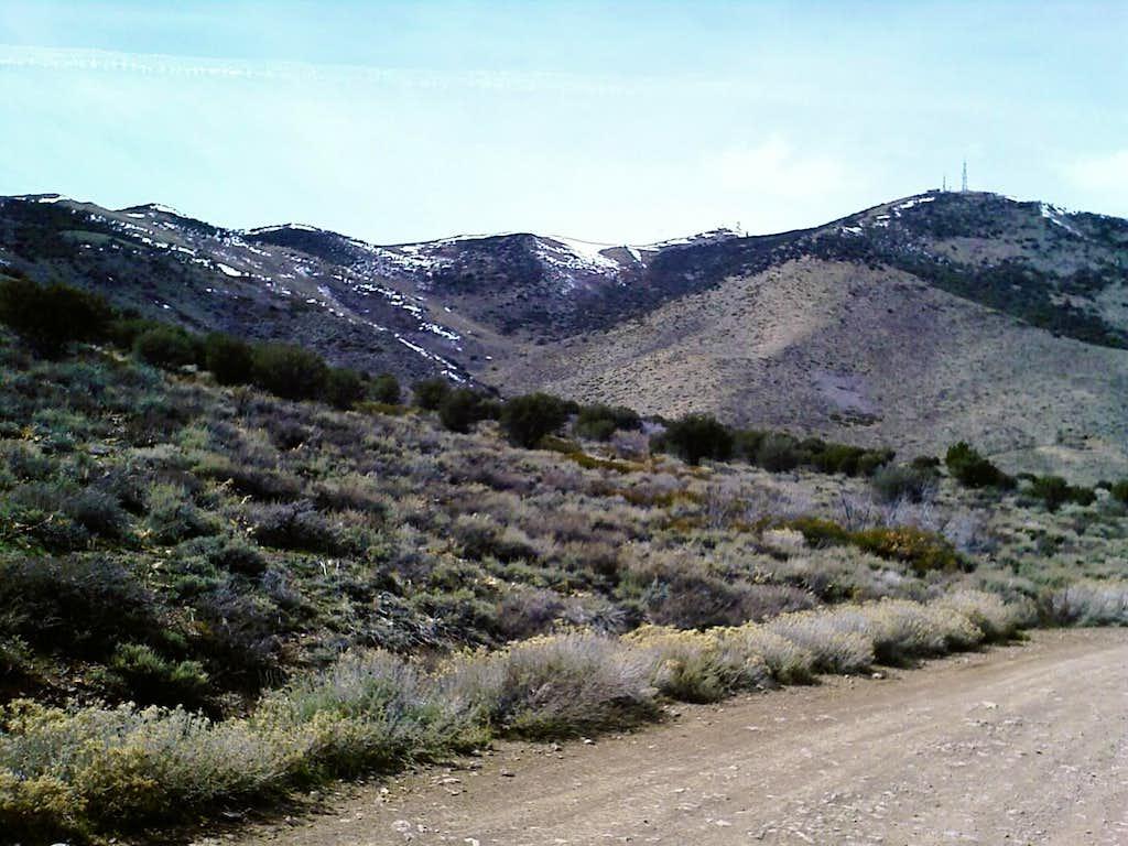 East-side of Peavine Peak