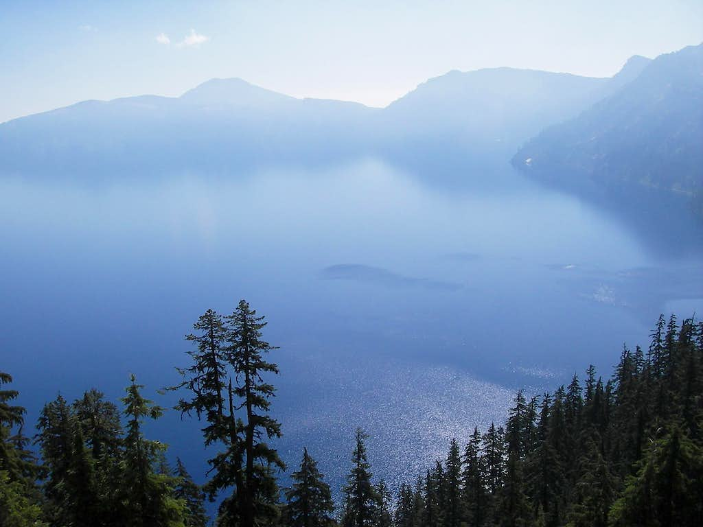 Crater Lake from the Hiker's PCT