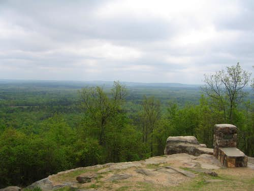 View from the summit of Dowdell\'s Knob