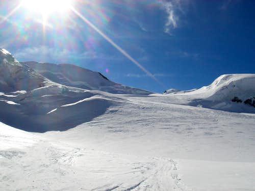 Grenz ski descent