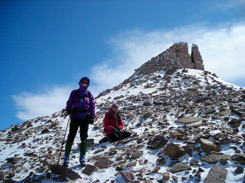 KPT07: Steve Swanson on the summit ridge