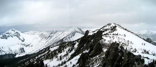 East Ridge Spring Skiing