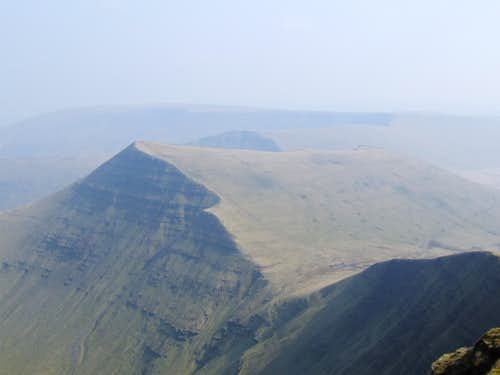 Cribyn viewed from the west