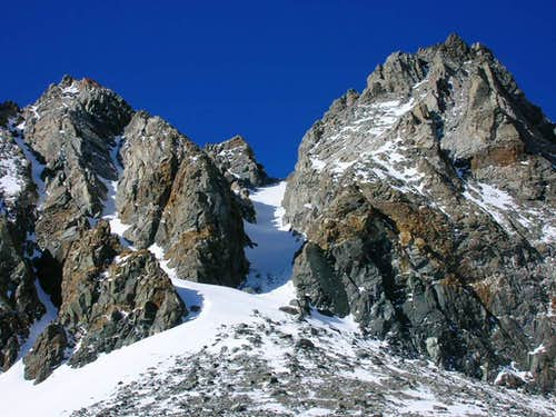 The East Couloir of Diamond Peak