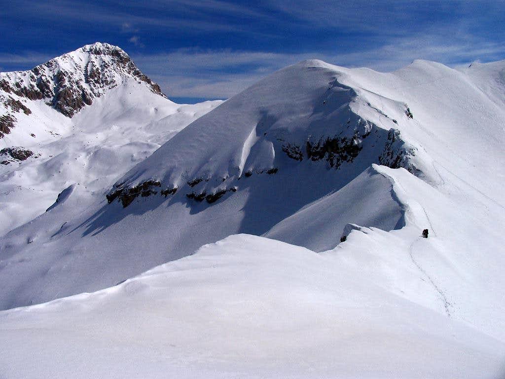 Monte Portella from west