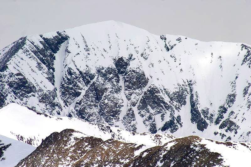 Mt Guyot.  South Face