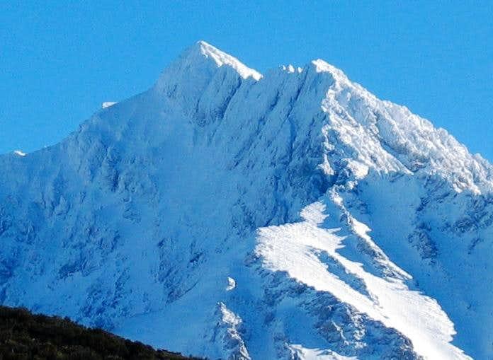 Borah Peak: North face