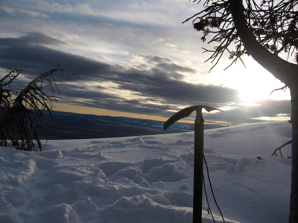 Ice Axe Silhouette