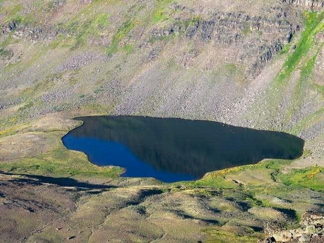 Wildhorse Lake just south of...