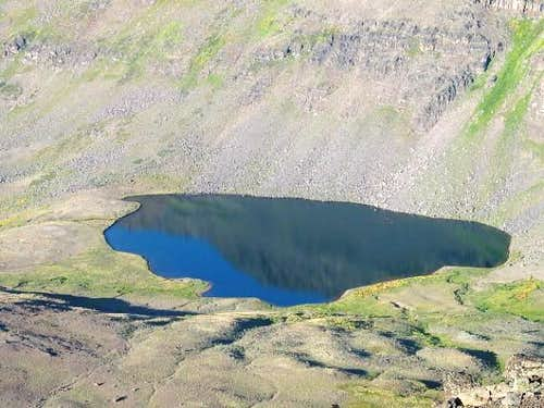 Wildhorse Lake just south of...