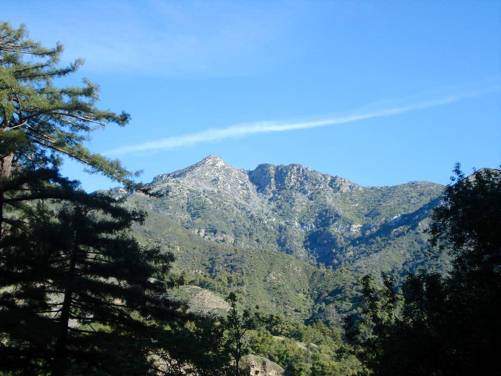 Cone Peak from Vicente Flat Trail