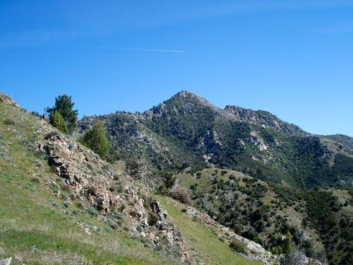 Cone Peak from Stone Ridge