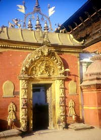 Golden door at Bhaktapur