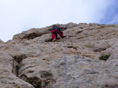 Kessler on the River Crags