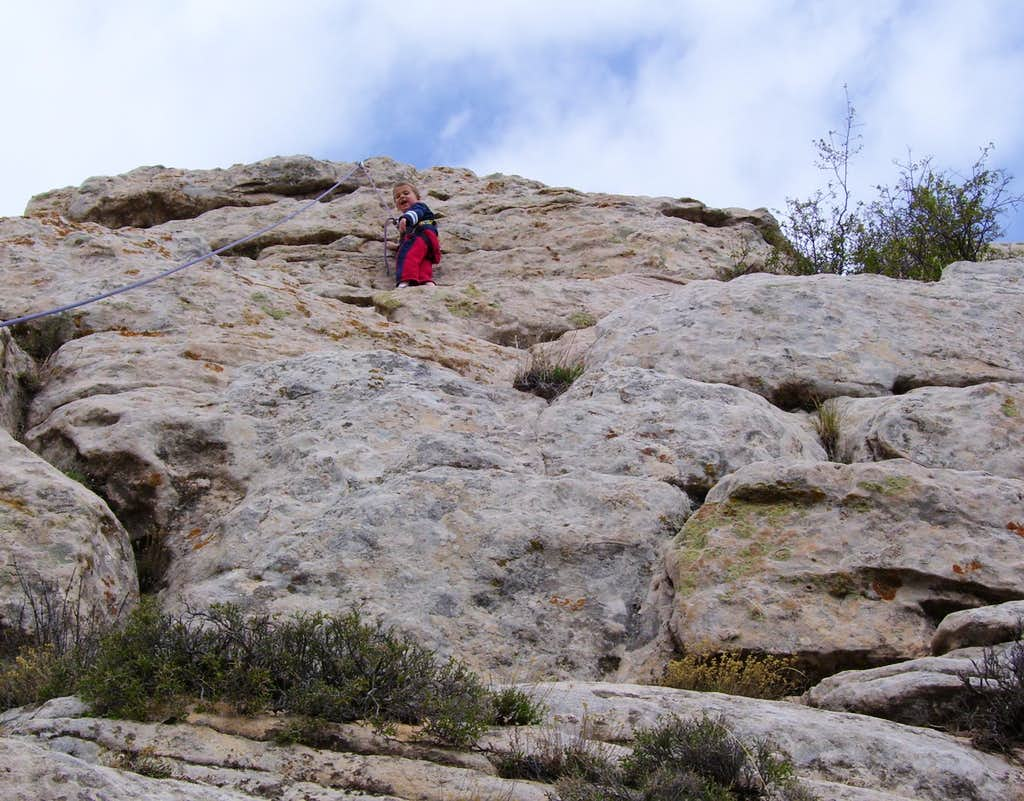 Climbing the River Crags