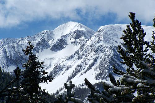 When you come to a Lake Fork in the mountains...take it!