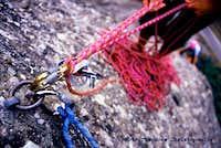 Belaying in Meteora