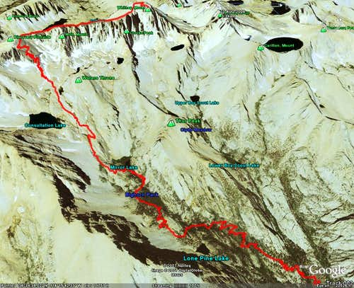 Mount Whitney Route