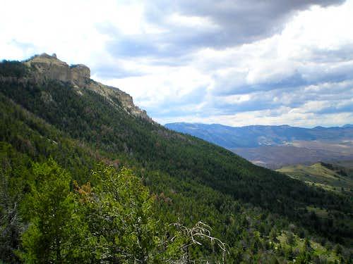 Along the Heart Mountain Trail