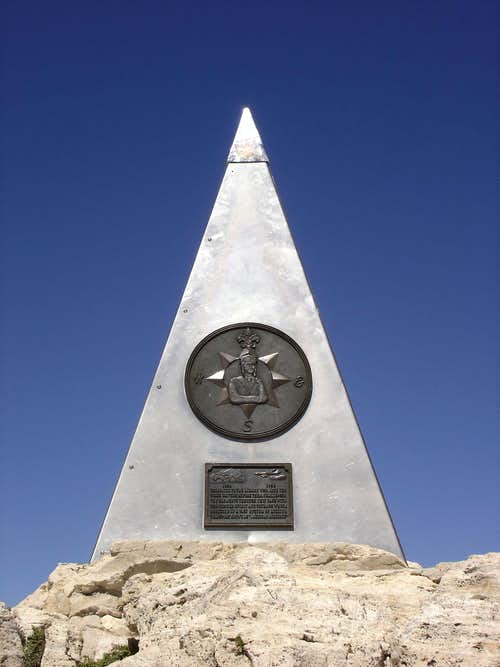 Guadalupe monument